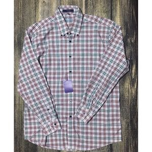 Alan Flusser Shirt Long Sleeve Plaid 214.338
